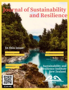 Journal of Sustainability and Resilience_SustainAbility and Resilience Institute New Zealand